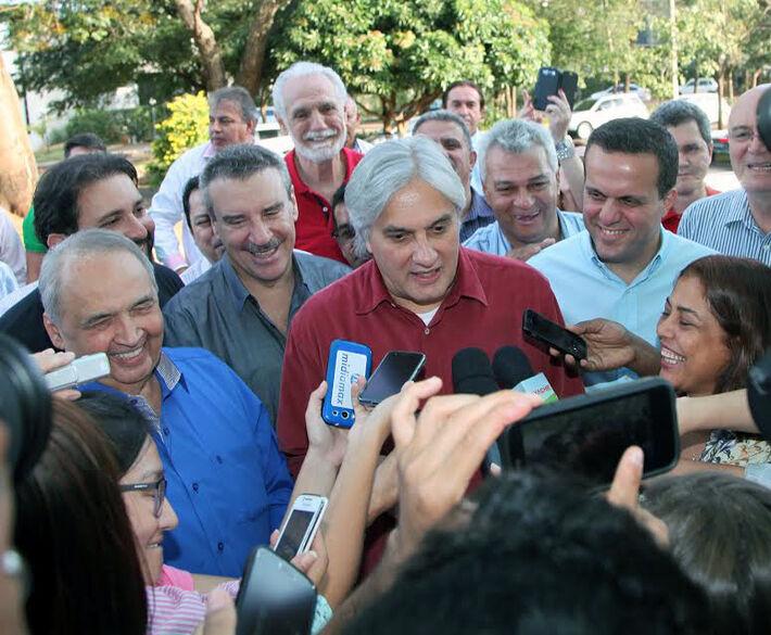 Delcidio disse que programa de governo tem viés social intenso<br />Foto: Assessoria