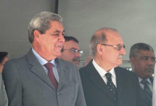 Governador André Puccinelli (PMDB) participa de solenidade em homenagem ao Dia Nacional do Bombeiro<br />Foto: Tayná Biazus
