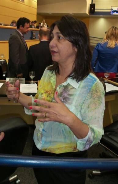 Vereadora Luiza Ribeiro (PPS)<br />Foto: Junior Cordeiros