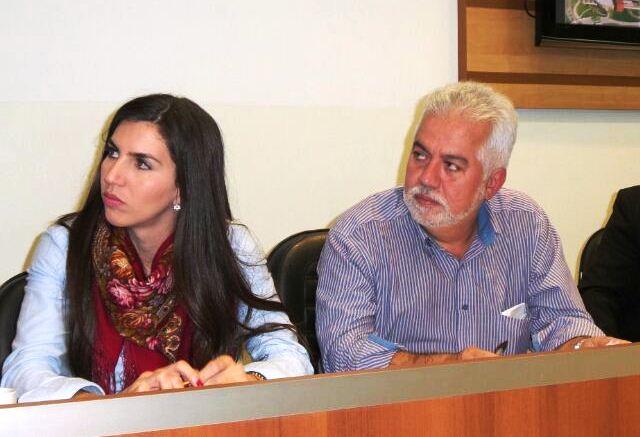 Diretora da Fundac Juliana Zorzo e Secretário de Infraestrutura Semy Ferraz<br />Foto: Karla Machado