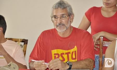 Candidato ao governo do Estado, professor Monje (PSTU) - Foto: Reprodução