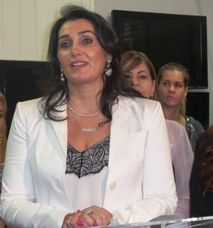 Secretária da Mulher, Liz Danielle Derzi Wasilewski de Matos Oliveira - Foto: Dany Nascimento