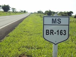 BR-163<br />Foto: Divulgação