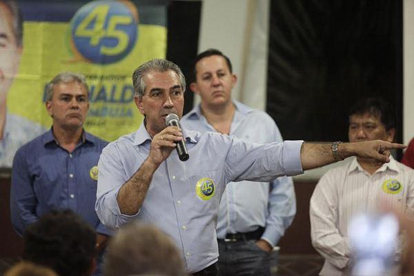 Governador eleito Reinaldo Azambuja (PSDB)<br />Foto: divulgação