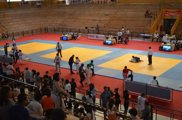 Atletas lutando<br />Foto: Arquivo