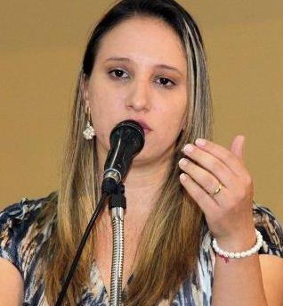 Vereadora de Campo Grande, Thaís Helena (PT)<br />Foto: Arquivo