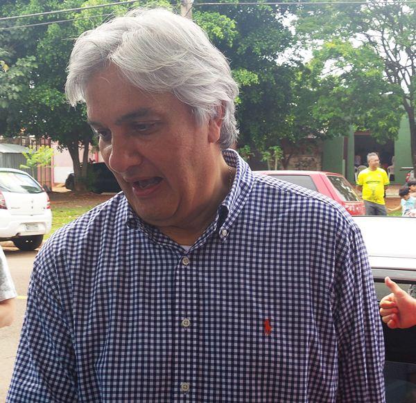 Candidato ao governo do Estado, Delcídio do Amaral (PT)<br />Foto: Tayná Biazus