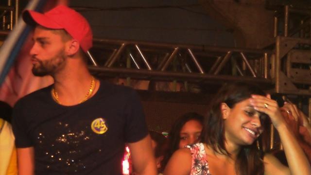 Governador Reinaldo Azambuja e vice Rose Modesto, ambos PSDB, durante festa da vitória<br />Foto: Heloísa Lazarini