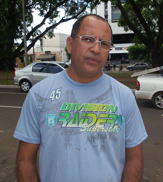 Antônio Marques, 45, motorista.<br />Foto: Tayná Biazus