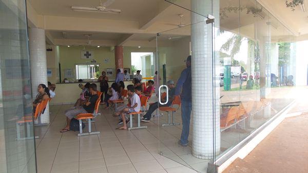Sala de espera da UPA do Coronel Antonino<br />Foto: Tayná Biazus