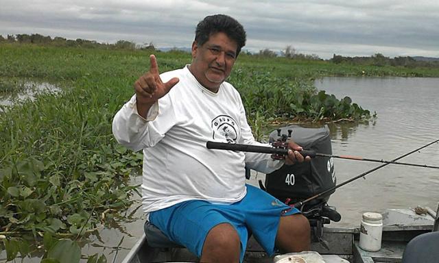 Ex-jogador pescava próximo a região do Tagiloma, com o genro e a filha - Foto: Reprodução/Facebook