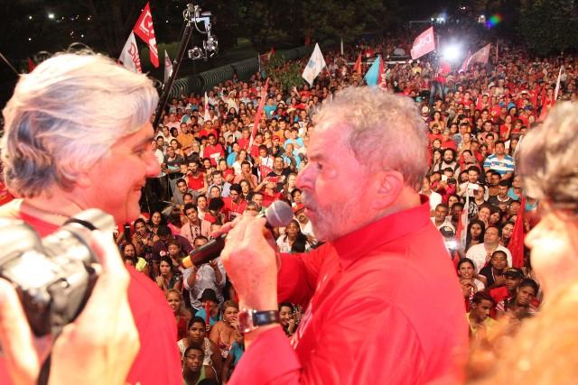 O ex-presidente Luiz Inácio Lula da Silva vem pela segunda vez em Campo Grande, no período das eleições<br />Foto: Assessoria