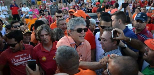 Ricardo Coutinho (PSB) superou adversário tucano e foi reeleito governador da Paraíba<br />Foto: Divulgação/ Facebook