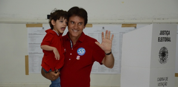 Atual vice-governador, Robinson Faria venceu o presidente da Câmara, Henrique Alves<br />Foto; Júnior Santos/Tribuna do Norte/Estadão Conteúdo