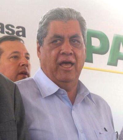 Governador de Mato Grosso do Sul, André Puccinelli (PMDB)<br />Foto: Heloisa Lazarini