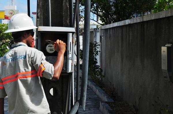 Energisa trabalhando<br />Foto: Divulgação