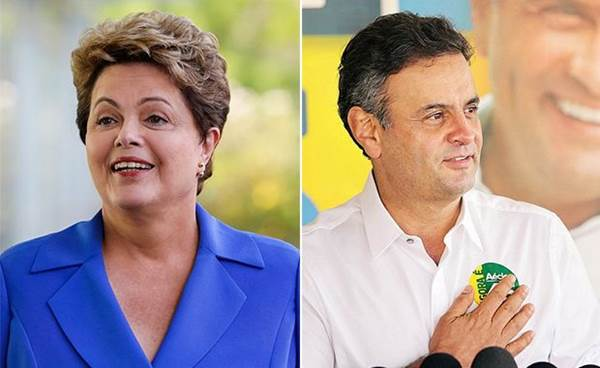 Candidatos à presidência da república Dilma Rousseff (PT) E Aécio Neves (PSDB)<br />Foto: Divulgação
