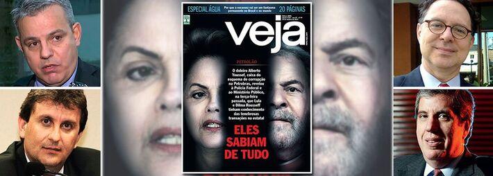 """</p> <p style=""""text-align: justify;"""">A tentativa de golpe da Editora Abril contra a democracia brasileira não durou um dia. Menos depois de 24 horas após circular com uma edição extra, acusando a presidente Dilma Rousseff e o ex-presidente Lula de """"saber"""