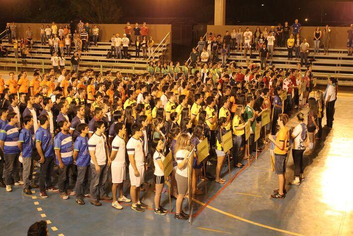 Nesta edição, 115 equipes participam das disputas coletivas e 32 atletas passaram pelos confrontos individuais do tênis de mesa<br />Foto: Assessoria