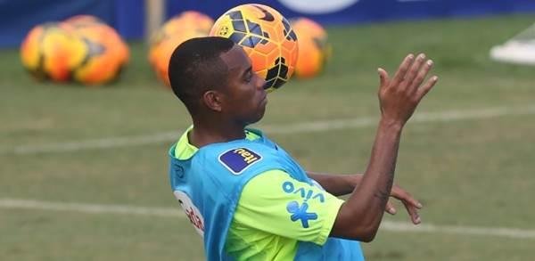 Atacante Robinho<br />Foto: Divulgação