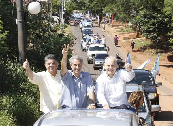 Candidato a governo do Estado, Reinaldo Azambuja (PSDB)<br />Foto: Divulgação