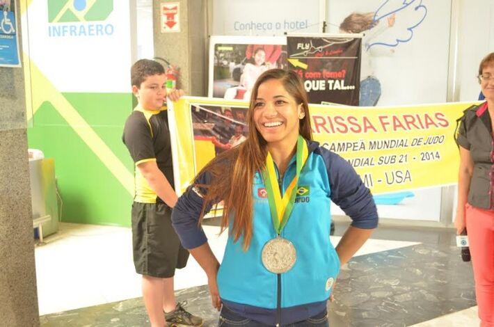 Atleta Larissa Farias<br />Foto: Divulgação