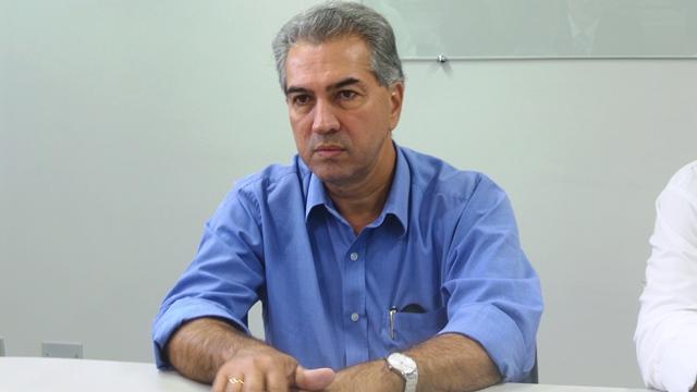 Reinaldo Azambuja (PSDB), governador eleito em Mato Grosso do Sul<br />Foto: Tayná Biazus
