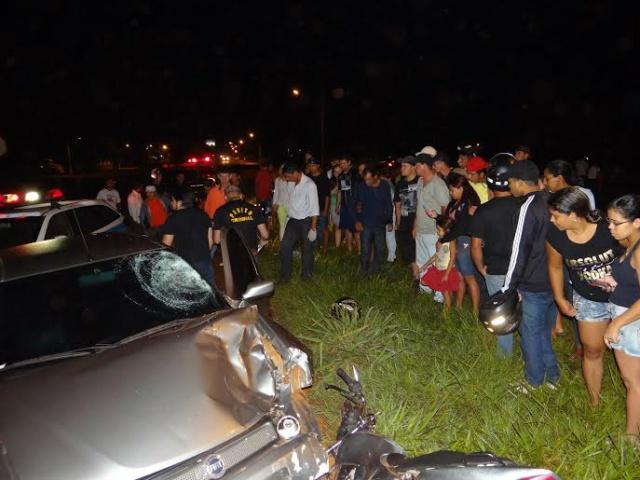Acidente que resultou na morte de duas pessoas em Dourados<br />Foto: Osvaldo Duarte/Dourados News