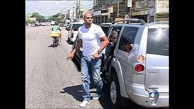 Jogador de futebol Adriano ainda não foi comunicado oficialmente da denúncia do Ministério Público<br />Foto: Reprodução