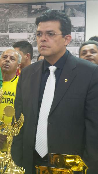 Prefeito de Campo Grande Gilmar Olarte (PP)<br />Foto: Dany Nascimento