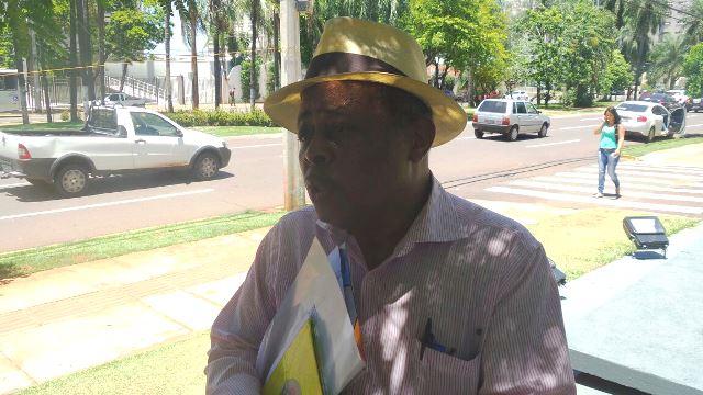 Presidente da ACP, Geraldo Gonçalves mais uma vez tentou negociar com prefeito, mas sem sucesso<br />Foto: Tayná Biazus