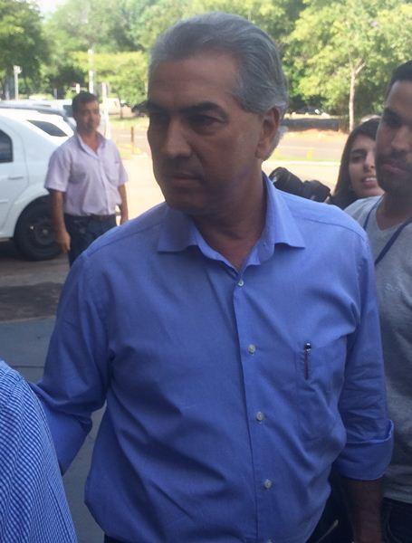 Governador eleito, Reinaldo Azambuja (PSDB)<br />Foto: Leide Laura Meneses