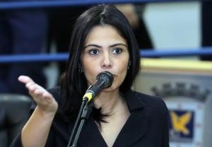 Vereadora e deputada estadual eleita, Grazielle Machado (PR)<br />Foto: Divulgação