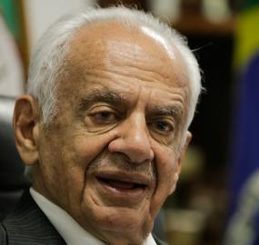 Senador Pedro Simon (PMDB)<br />Foto: paulo Negreiros