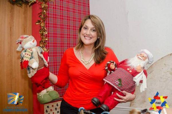 Primeira dama da Capital, Andrea Olarte não quis comentar o assunto<br />Foto: Reprodução facebook