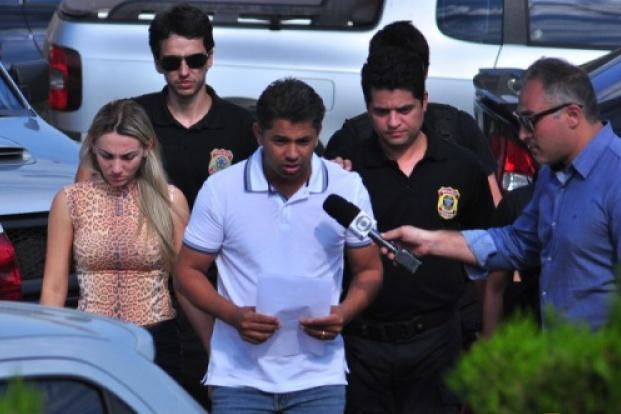 Vereador Cicinho do PT e esposa Mainara Malinski presos pela Polícia Federal