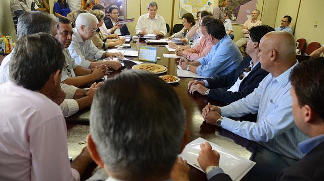 Reunião realizada pela equipe de transição na Seprotur<br />Foto: Arquivo