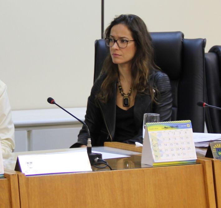 Promotora de Justiça Andréia Cristina Peres da Silva<br />Foto: MPMS