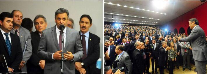 Senador Aécio Neves (PSDB)<br />Foto: Divulgação