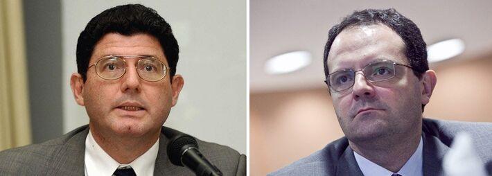 Novos ministros, Joaquim Levy e Nelson Barbosa<br />Foto: Divulgação