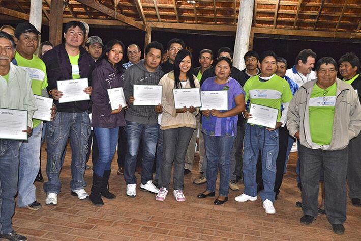 Entrega de certificados dos cursos do Senar/MS em Aquidauana em setembro de 2013<br />Foto: Divulgação Famasul