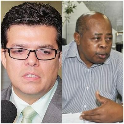 Prefeito Gilmar Olarte (PP) e o presidente da ACP, Geraldo Gonçalves<br />Foto: Divulgação