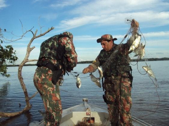 PMA define estratégia para a operação piracema e fecha a pesca em todos os rios<br />Foto: Divulgação PMA