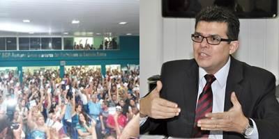 Prefeito de Campo Grande Gilmar Olarte (PP) pede compreensão aos professores mas reitera não ter dinheiro para pagá-los.