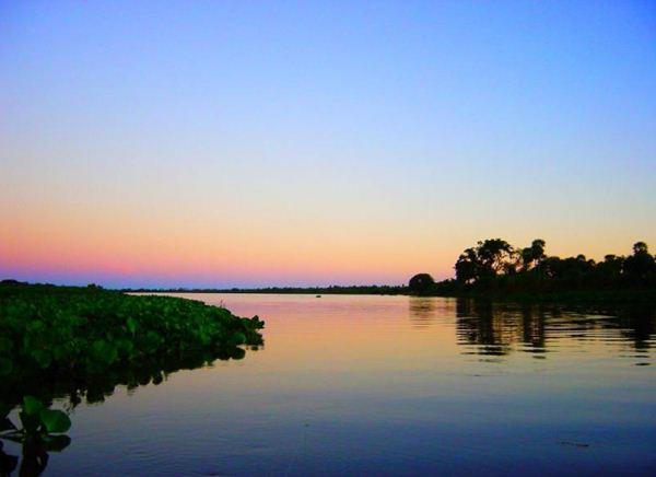 Rio Paraguai no município de Corumbá<br />Foto: Divulgação