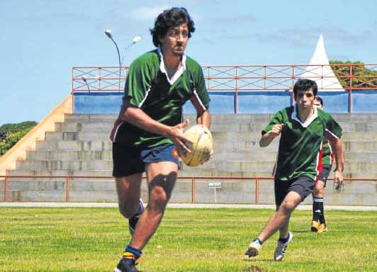 Atletas de Rugby<br />Foto: Divulgação