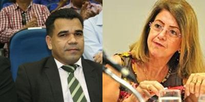 Titular da Seinthra nomeado por Olarte Valermir Brito e ex-secretária Katia Castilho