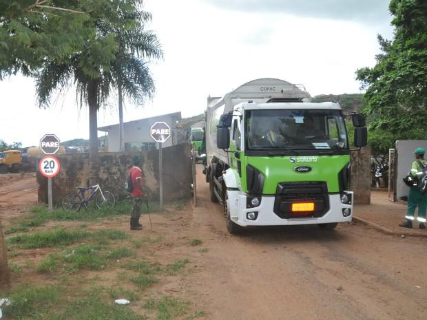 Caminhão da CG Solurb<br />Foto: Divulgação
