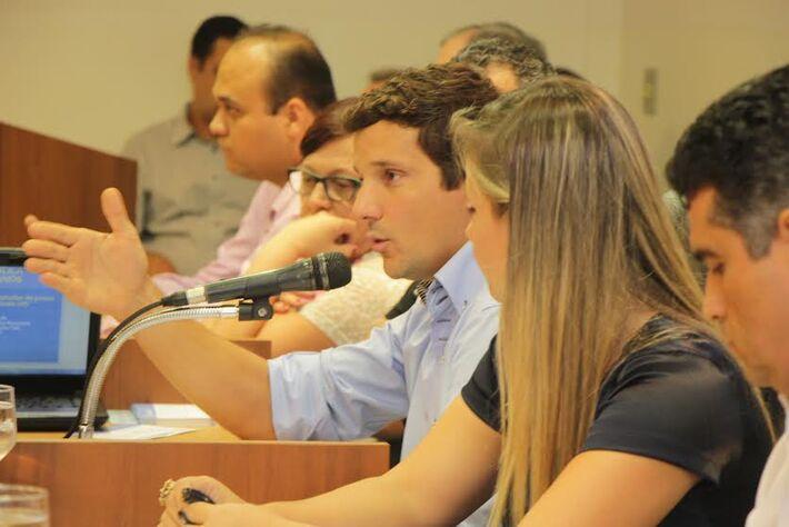 Vereador Eduardo Romero (PT do B)<br />Foto: Divulgação