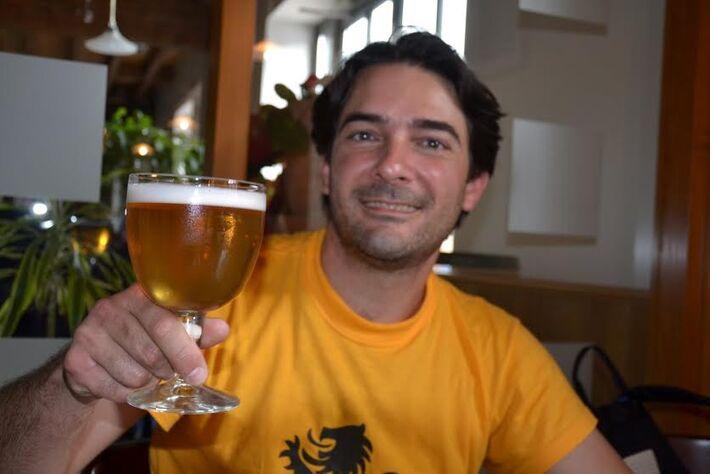 Felipe Viegas, da Cervejaria Taberna do Vale<br />Foto: Divulgação